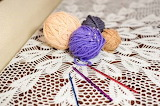 Yarn and lace