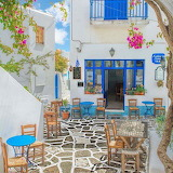 Paros Island alley