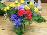 Flower Arranging....