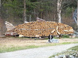 Wood stacked fish!!