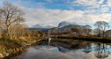 Caledonian Canal, village of Corpach in Western Scotland