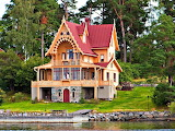 Unique Home on Lake Vaxholm Sweden