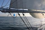 The blue sail