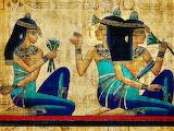 Dipinto su papiro