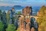 Bastei Bridge, Sandstone Mountain, Germany