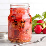 ^ Pickled Radishes