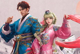 Girl, man, Korean costume, fantasy