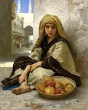 The Pomegranate Seller by William Adolphe Bouguereau