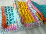 Pastel Crocheted Squares