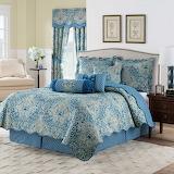 Comfy Blue Bedroom