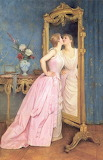 Auguste Toulmouche, Vanity, 1889