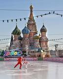 Skating in Red Square