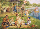 Family Picnic by Lee Dublin...