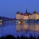 ☺ Moritzburg Castle at night, Germany...