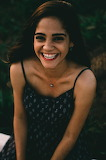 Young Woman Full of Joy by Hian Oliveira