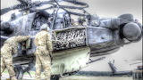 Apache Helicopter Pre-Flight Check