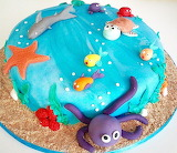 under the sea cake @ karolarts