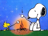 Snoopy and Woodstock - Best Friends