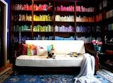 Rainbow Book Shelves