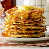^ Bacon Corn Pancakes