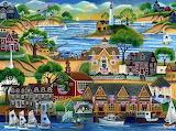 Seaside and Sails - Cheryl Bartley