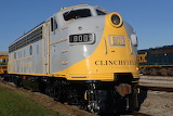 Diesel Locomotive F7 Train Clinchfield 800