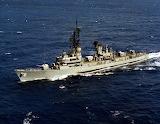 USS Lynde McCormick DDG-8 - Adams Class