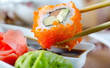 Sushi, fish, sauce, food, eat