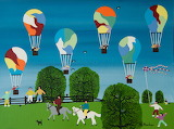 ^ Balloons over the Park ~ Gordon Barker