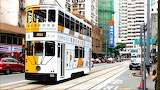 Tramway in Hong Kong