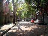 Quiet Streets at Shanghai China