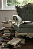 books and a comfy chair