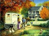 Milk Delivery~ LindaPicken