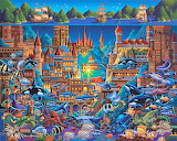 The fabled city of Atlantis-Eric Dowdle