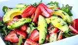 #Strawberry Avocado Salad