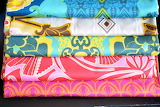 Pretty and Colorful Sateen Fabric Stack