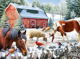 Sharon Stone 'Wintering at the Farm'