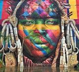 graffiti by Kobra, Rio de Janeiro