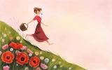 Rose a petits pois Amélie Callot