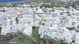 Santorini aerial