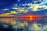 Trasimeno-lake-sunset