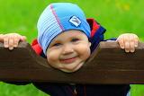 Smile, boy, child, hat, kid