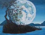 Moon Landscape by Vera Holmogorova