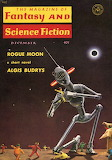 The Magazine of Fantasy and Science Fiction, Dec. 1960 cover by