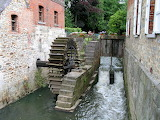 Watermill in Belgium