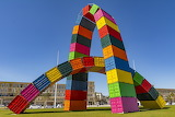Shipping Container Sculpture, Le Havre, France