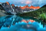 #Moraine Lake Banff National Park Alberta Canada