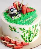 Panda cake @ VeryBerryCake