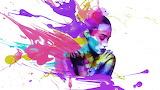 Ink splash