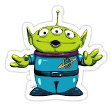 Alien from Toy Story
